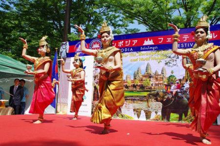 カンボジアフェスティバル2019に出展!